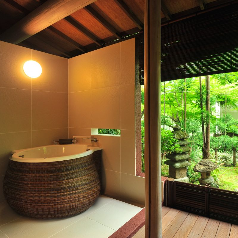 Japanese-Style Deluxe Room with Open Air Bath - Annex
